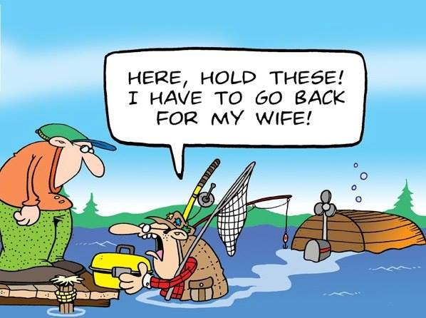 Tundra Comics Fishing Cartoon 1